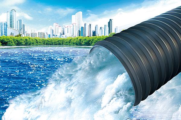 HDPE大口徑中空壁纏繞管